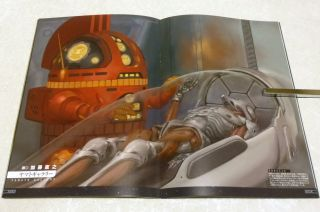 Space Battleship Yamato 2199 Chapter 3 Official Souvenir Program Book Mook Mint