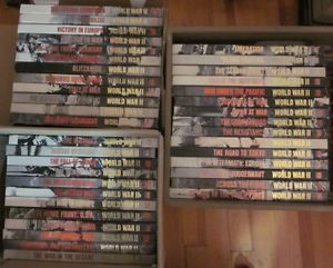 Time Life Time Life World War II Books 1989 Hardcover 39 Books $5 Each