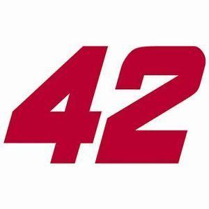 "Juan Pablo Montoya 42 12"" Magnet NASCAR Racing Target Car Truck Auto Outdoor"