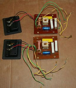 JBL L20T3 Speaker Crossovers with Terminal Cups Part Number 70822 Working