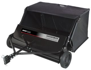 "New Ohio Steel 42"" 18 CU ft Tow Behind Lawn Sweeper"