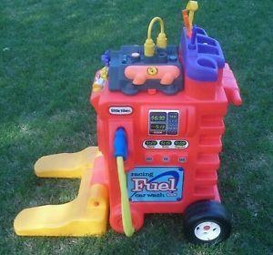Little Tikes Racing Fuel Car Wash