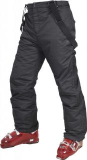 Trespass Bezzy Mens Ski Snowboard Pants Salopettes Black Brand New Bargain