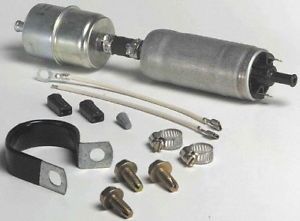 """Carter P60430 Universal Electric Fuel Pump 4 6 PSI 30GPH Inlet Outlet 5 16"""""""