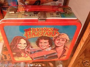 Dukes of Hazzard Lunch Pail Box with Thermos No Lid General Lee