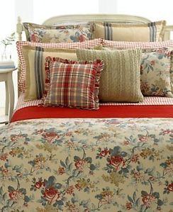 Ralph Lauren Lake House Full Queen Comforter Floral $270