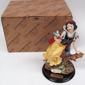 Giuseppe Armani 209C Snow White Disney Bird Retired Figurine