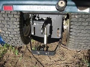 Craftsman 3000 Riding Lawn Mower Three Point Hitch