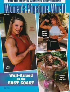 Women's Physique World Female Bodybuilding Muscle Magazine East Coast 4 03