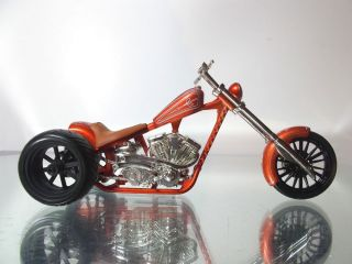 West Coast Choppers Jesse James El Diablo Custom Trike 1 18 Scale Diecast 4U