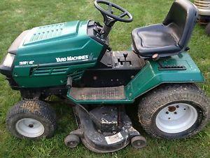 yard machine 20 hp 46 cut