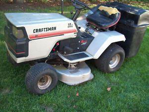 "Craftsman Riding Mower 38"" Deck Bagger Leaf Collector System Look"