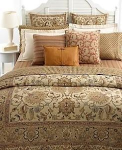 Ralph Lauren Northern Cape Tapestry Queen Comforter Set 4pc New
