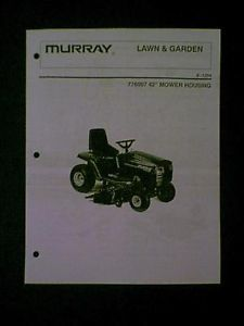 "Murray Riding Mower 42"" Deck s 1254 776007 Parts Manual"