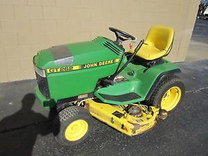 """John Deere GT262 17hp Kawasaki 48"""" Mower Deck Riding Lawn Mower Garden Tractor"""