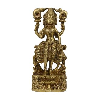 Goddess Lakshmi Statue Sculpture Hindu Art Religious Gifts Ideas