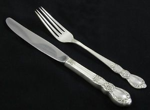Heritage 1847 Rogers Bros Is 1953 Estate Silverplate Flatware Youth Knife Fork
