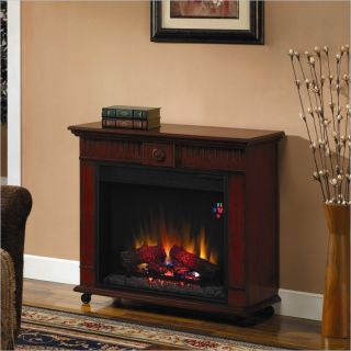 Classic Flame Strasburg Free Standing Vintage Cherry Electric Fireplace