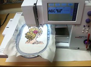 Bernina Artista 200 Embroidery Machine 64 MB 4 51 BSR USB 1000's OESD Design