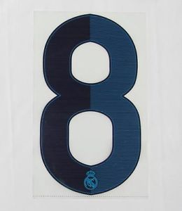 12 13 Real Madrid Plastic Home Style Number 8 252mm