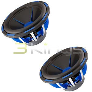 "2 Power Acoustik MOFO152X 15"" 6000W DVC Car Audio Subwoofers Sub MOFO 152X 709483032101"