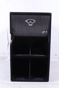 """Cerwin Vega TS 42 21"""" Folded Horn Subwoofer Black 886830628986"""