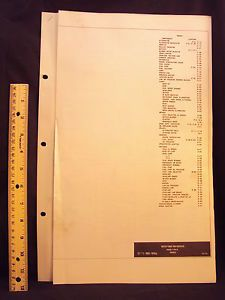 1973 73 Ford Truck F500 F550 F650 F750 Electrical Wiring Diagrams Manual Orig