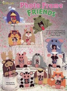 Photo Frame Friends Animal Frames Plastic Canvas Patterns New