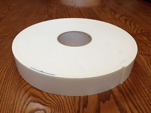 "Double Sided Foam Tape with Rubber Adhesive Both Sides 1 75"" Wide 108 ft Long"