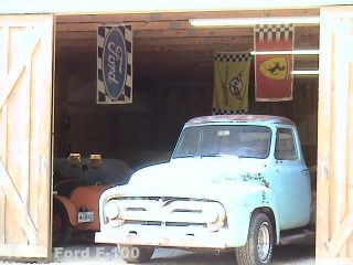 1955 Ford F 100 Number Matching 239 Y Block
