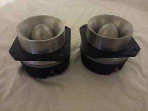 JBL 075 Bullet Tweeters Speakers 8 Ohms Pair with Mounting Brackets