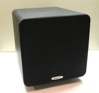 Polk Audio PSW111 8 inch Subwoofer Single Black