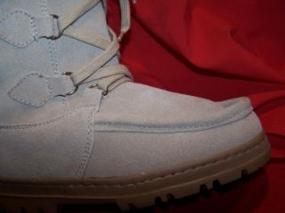 Suede Leather Montana Winter Boots Guide Gear Mukluk Women 7 Natural