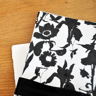 flora and fauna hand printed stationery set by ella johnston art and