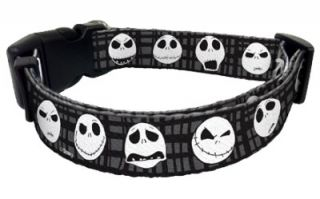 Disney Nightmare Before Christmas Jack Skellington Dog Puppy Collar Leash Set