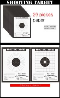 Paper Target Shooting BB Pellet 20 Sheets