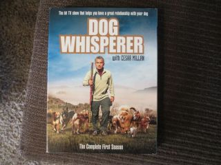 Dog Whisperer with Cesar Millan The Complete First Season DVD 2006 4 Discs