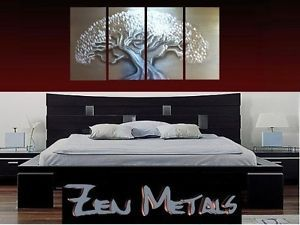 Abstract Metal Wall Art Contemporary Modern Decor New Tree Sculpture L Original
