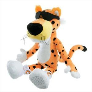 Chester Cheetah Doll Plush Toy Cool Cat Collector
