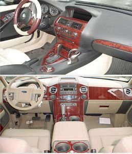 BMW Z4 03 06 Interior Wood Dash Kit Trim Parts Accessories