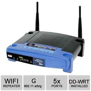 Cisco Linksys WRT54G Wireless G Access Point Range Extender Repeater Bridge VPN