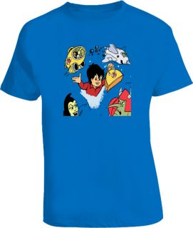Sport Billy 80s Retro Classic Cartoon Royal Blue Tshirt