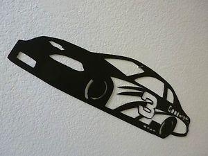 Metal Race Car Wall Decor