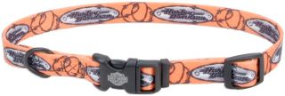 Harley Davidson New Style Tagged Barbed Wire Dog Collar or Leash