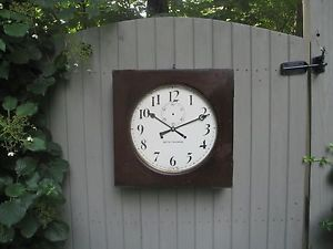 Antique Seth Thomas 30 Day Office Clock Model 11 Regulator Wall Clock Working