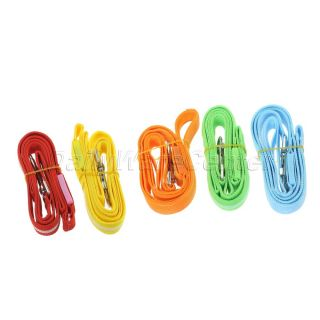 1 x Pet Harness Dog LED Flashing Light Glow Safe Collar Lead Leash Rope Belt