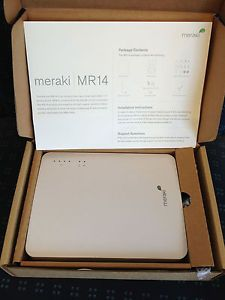 Cisco Meraki MR14 Dual Radio N Wireless Commercial Access Point WiFi Router