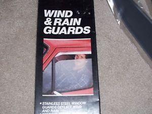Chevy GMC Pickup Full Size Blazer Vent Window Shade Visors Rain Guard 73 87