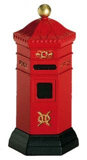 English Post Box New Department Dept 56 Dickens Village D56 DV