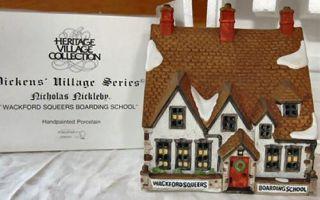Wackford Squeers Boarding School New Department Dept 56 Dickens Village D56 DV